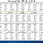Kalendari i kampionatit Italian Serie A Sezoni 2012-2013