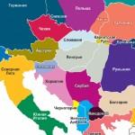 Harta e Evropes ne 2035 sipas CIA, Shqiperia e bashkuar