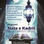 Nata e kadrit 2012. Program madhështor në Tiranë