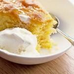 Si të gatuajmë kek me portokalle dhe polenta