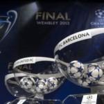 Liga e Kampioneve 2013, shorti, ja perballjet e skuadrave