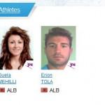 Lojrat Olimpike dimerore Sochi 2014, shqiptaret qe marrin pjese